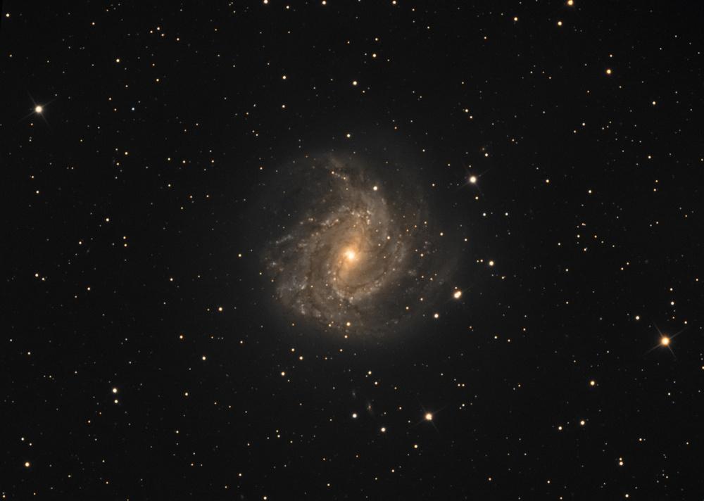 M83 AKA The Southern Pinwheel, 4 hours LRGB, Vixen VC200L sBig STF 8300M, astrodon filters