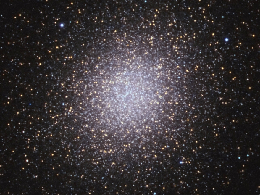 Omega Centauri, cropped version of the core