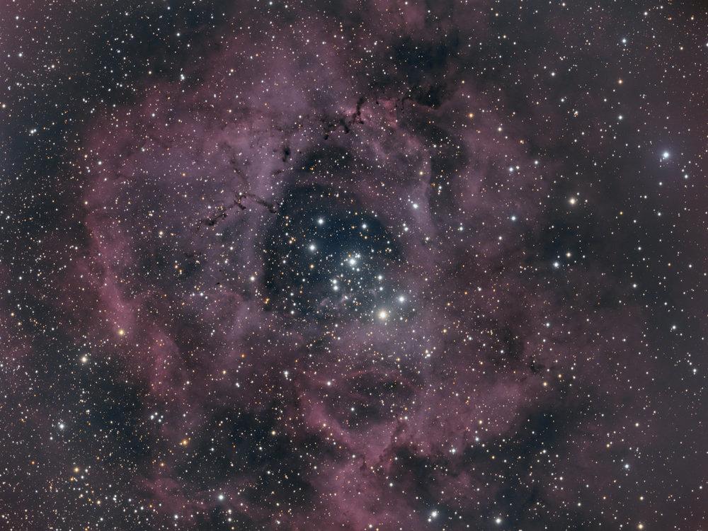 #7 The Rosette Nebula -