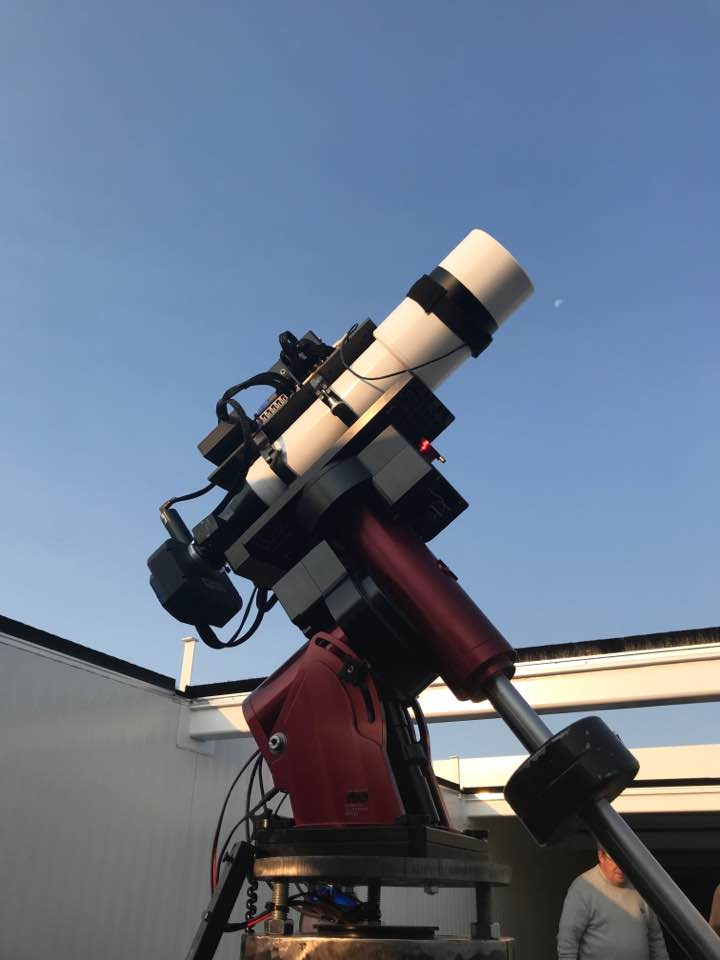 Inside the observatories - Professional, state of the art modern and purpose built observatories in one of Europe's best dark sky locations.state of the art facility
