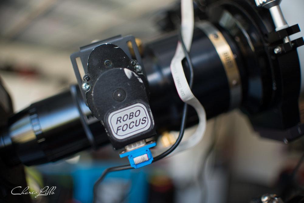 Robo focus motor