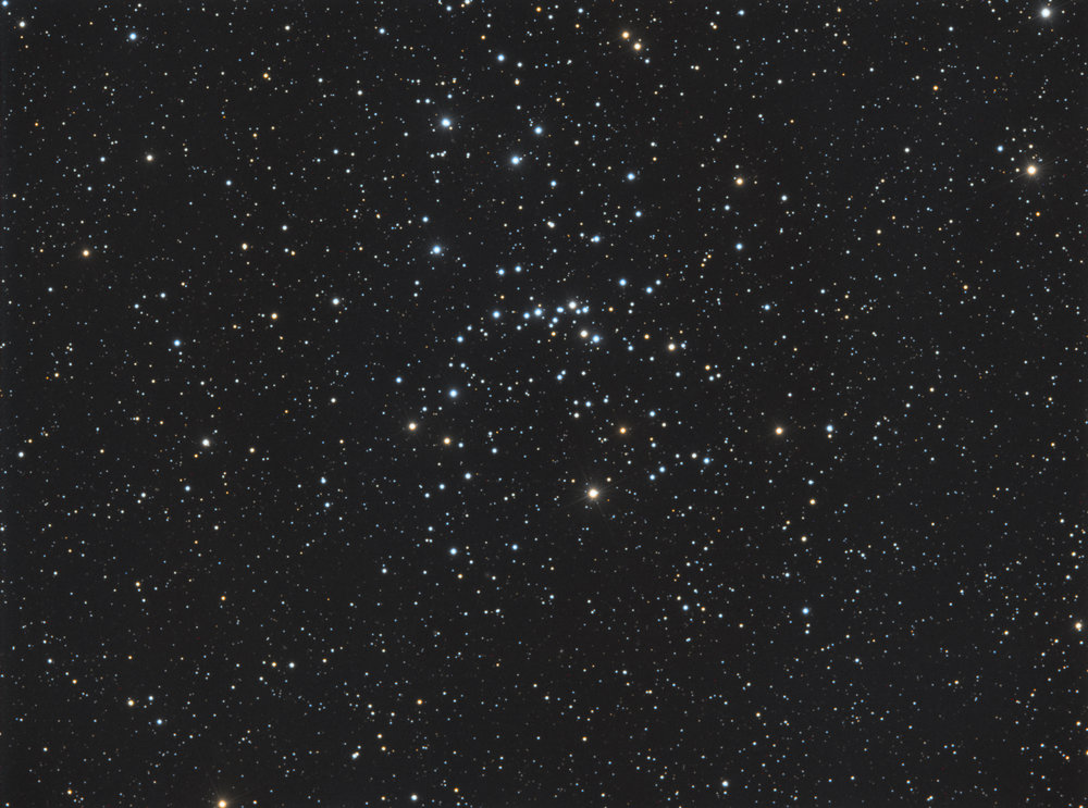 M48 Open Cluster in the constellation Hydra