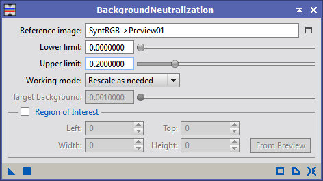 BackgroundNeutralization Tool