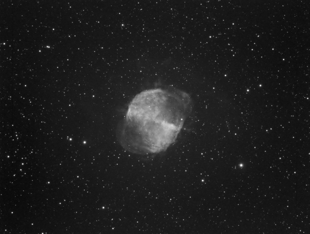 M27 The Dubmbell Nebual 18x600
