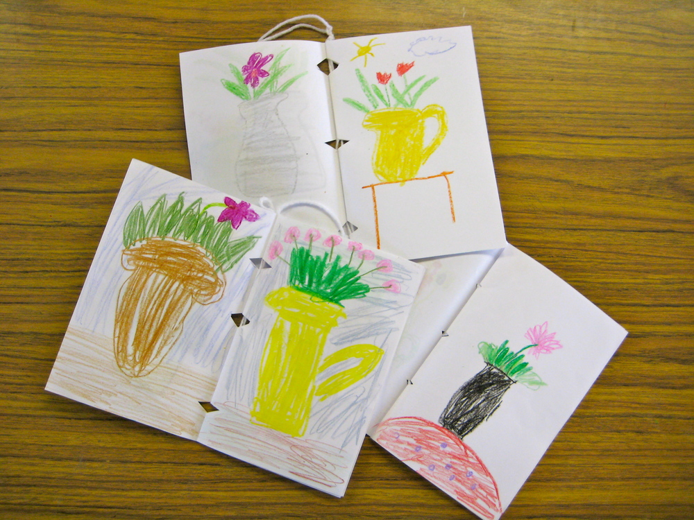 Grade 3 Still LIfe Sketchbooks