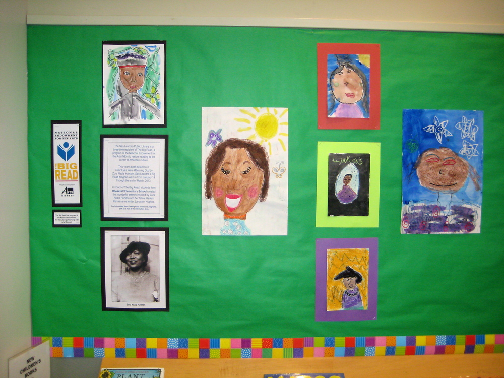 4th & 5th Grade Portraits of Zora Neale Hurston