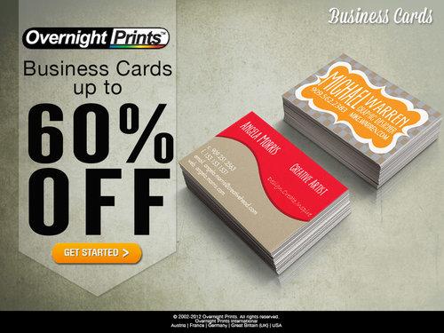 Overnight Prints Salina Raymond - Overnight prints business card template