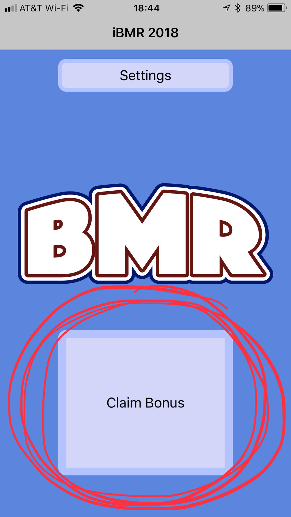 "If you are NOT using ""Justin's Awesome Bonus Selector,"" the DIC/HIC/MIC is locked in when you use tap the ""Claim Bonus"" button."