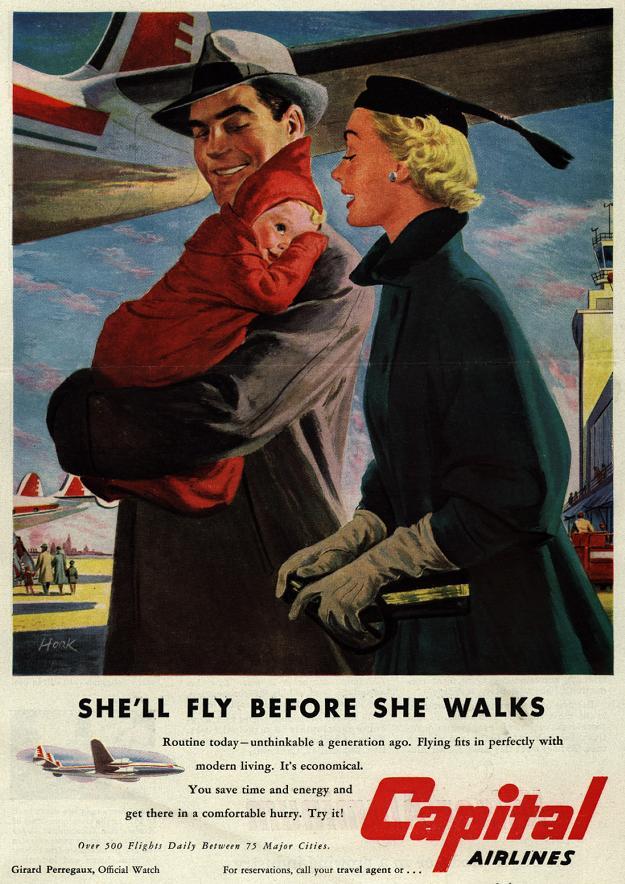 She'll Fly Before She Walks