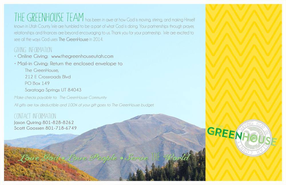 Fundraising Postcard, 2013