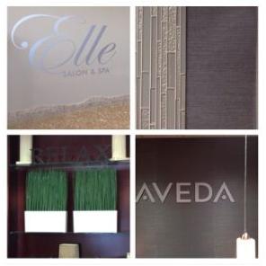 Interior design refresh for Elle Aveda Salon & Spa