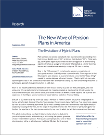 CLICK TO DOWNLOAD FILE IN PDF  The New Wave of Pension Plans in America