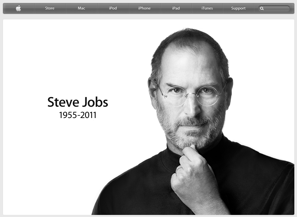Thank you, Steve Jobs.. R.I.P.