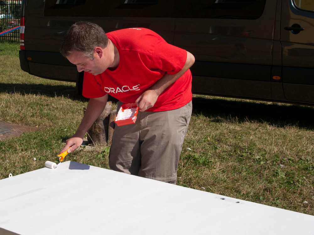 Oracle Volunteer Day
