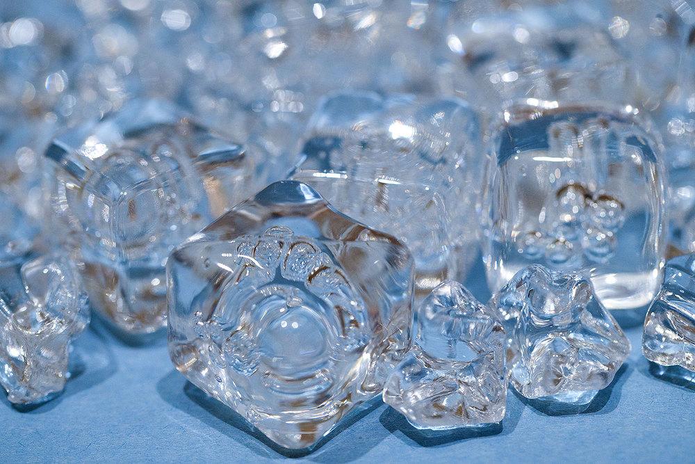 Plastic Ice Cubes