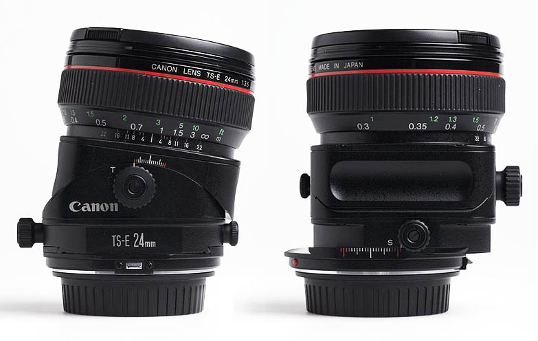 Tilt-Shift Lenses