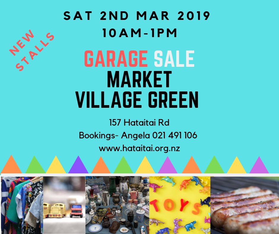 2019 March Hataitai village Garage Sale.jpg