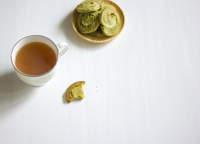 Erika Rax - Green Tea Pistachio Cookies