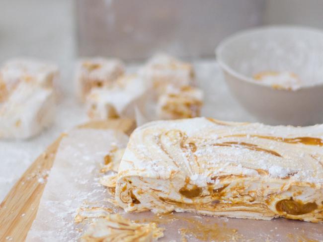 Erika Rax - Salted Caramel Swirl Marshmallows