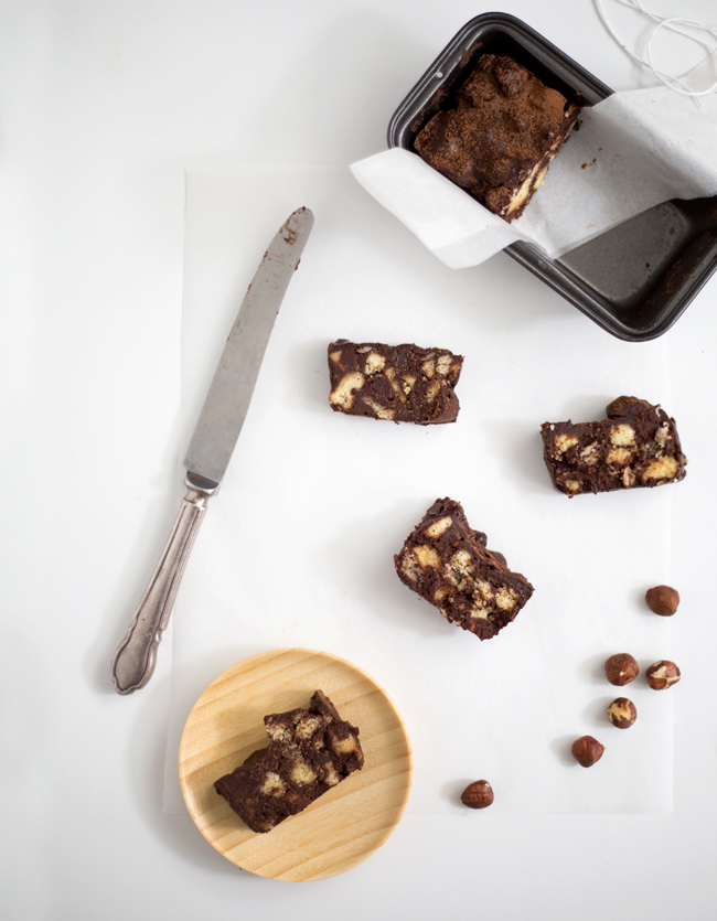 Erika Rax - No-Bake Dark Chocolate Shortbread Loaves