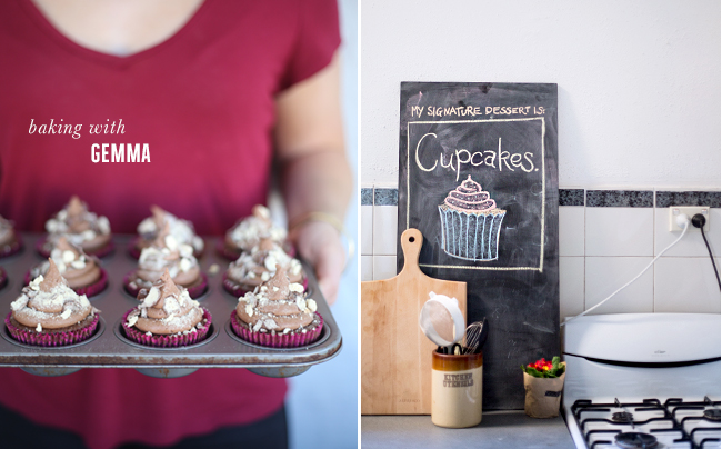 Erika Rax - Malteser Cupcakes - Baking with Gemma