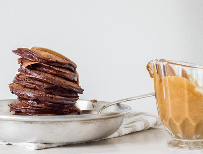 Erika Rax - Chocolate Pancakes with Espresso Cream
