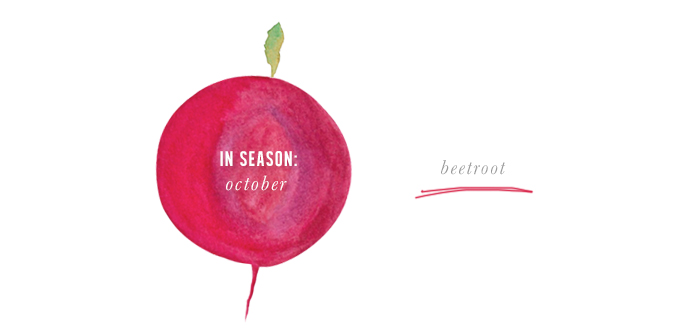 Erika Rax - In Season in October - Beetroot Froyo Pops
