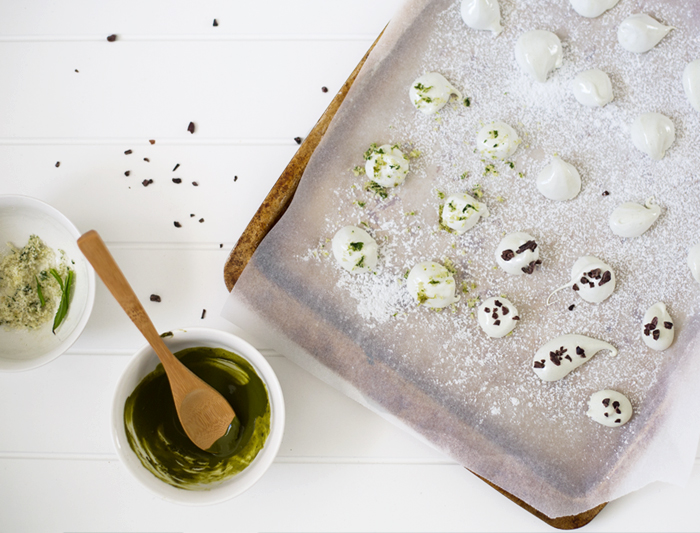 Erika Rax - Green Tea Marshmallows