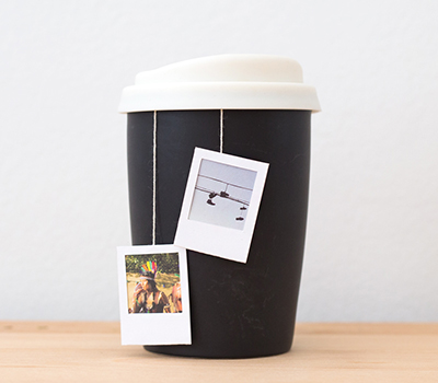 Polaroid Tea Bag Tags