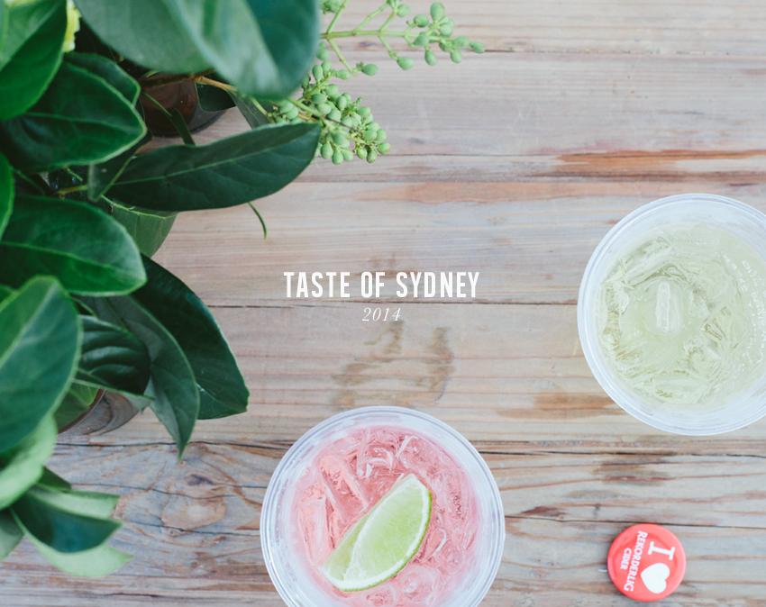 Taste of Sydney | Erika Rax