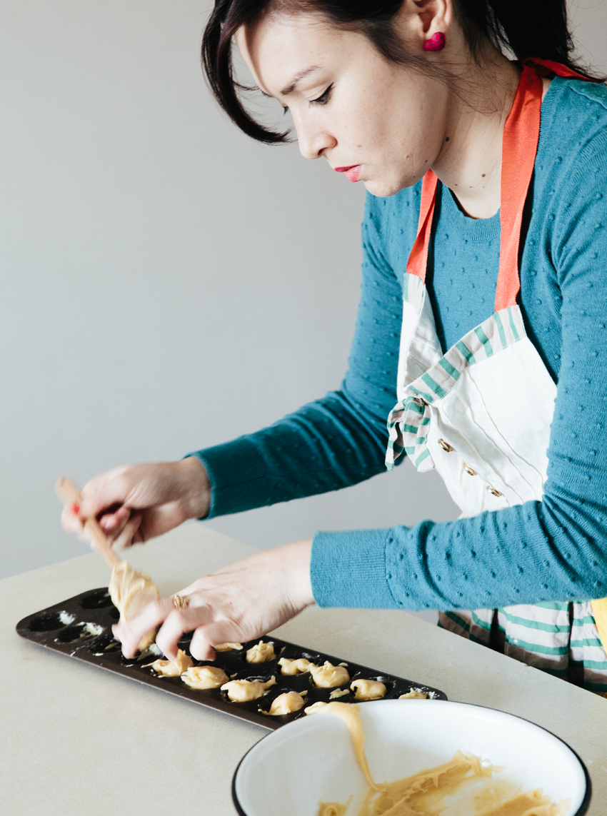 Meet Chantal Brady / Orange Blossom-Lillet Madeleines | Erika Rax