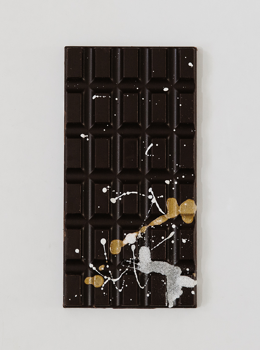 DIY Artful Chocolate Bars | Erika Rax
