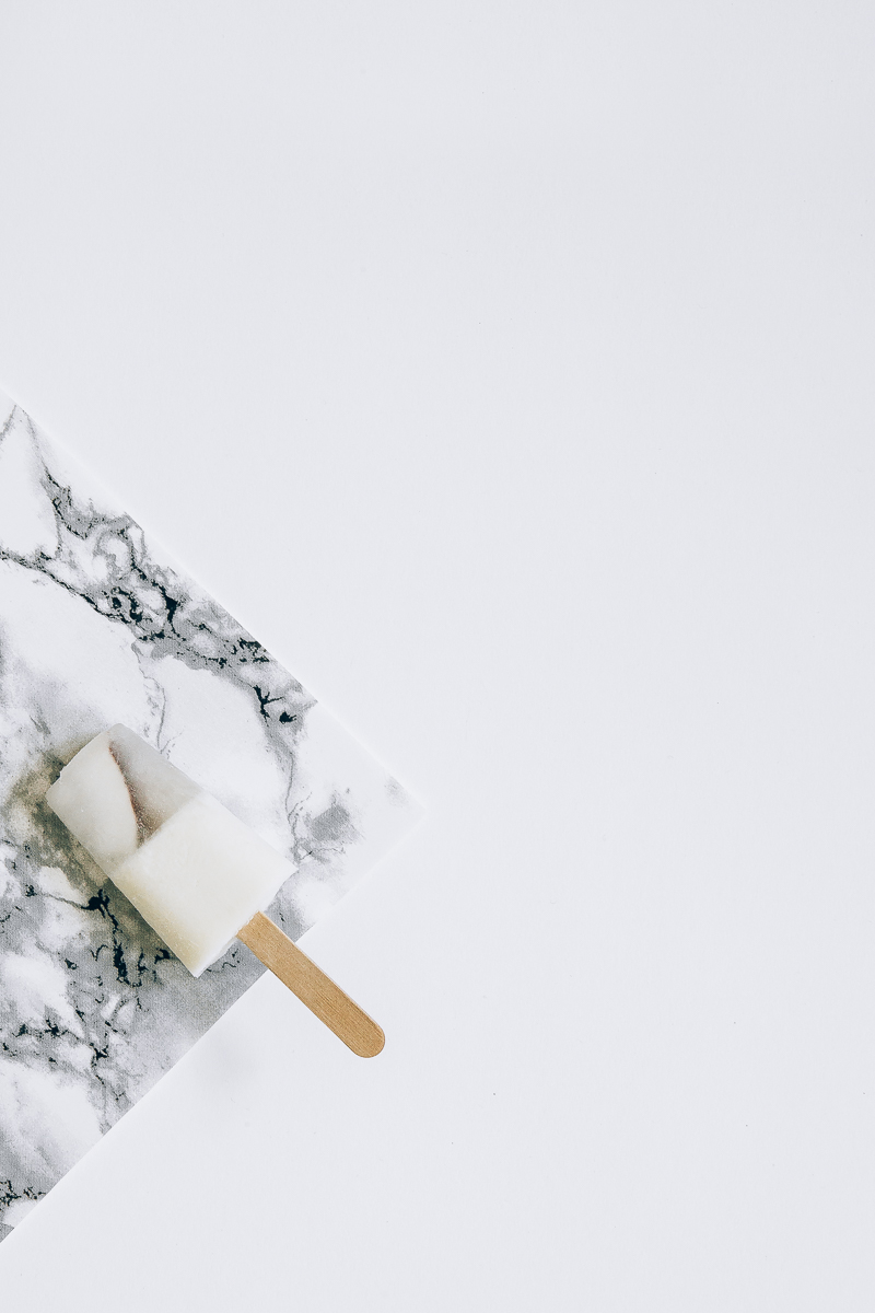 Lemongrass Coconut Popsicles for #POPSICLEWEEK | Erika Rax