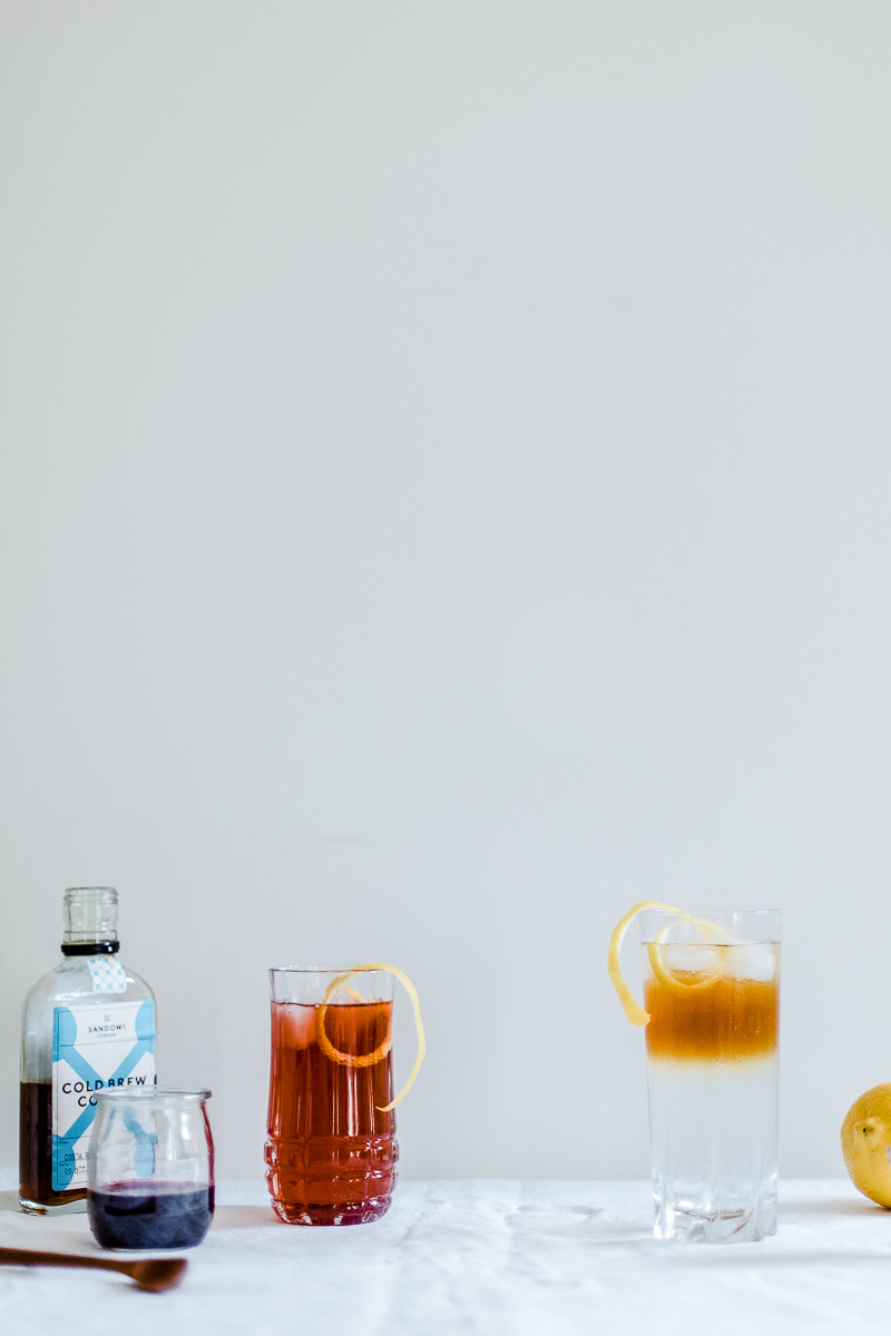 Cold Brew Tonic Two Ways | Erika Rax