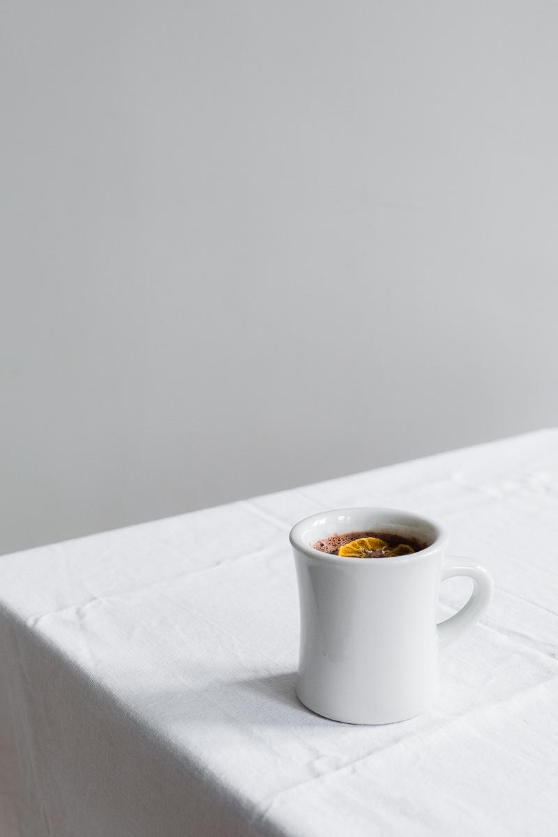 clementine hot chocolate | erika rax