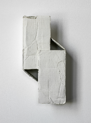 Ricky Swallow,   Skewed Doors , 2013.  Patinated bronze, 36.2 x 18.4 x 6.3 cm.   © Image courtesy Stuart Shave/Modern Art, London.