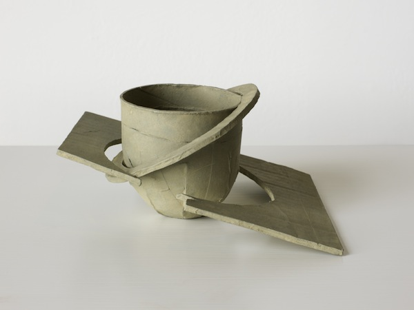 Ricky Swallow,  Saturn Cup,  2013.  Patinated bronze, 8.3 x 17.8 x 15.9 cm.  © Image courtesy Stuart Shave/Modern Art, London.