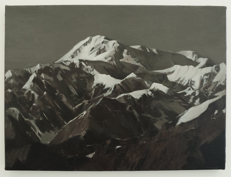 Caroline Kha, Survey: Denali National park, 40 x 30cm, Oil on canvas ©