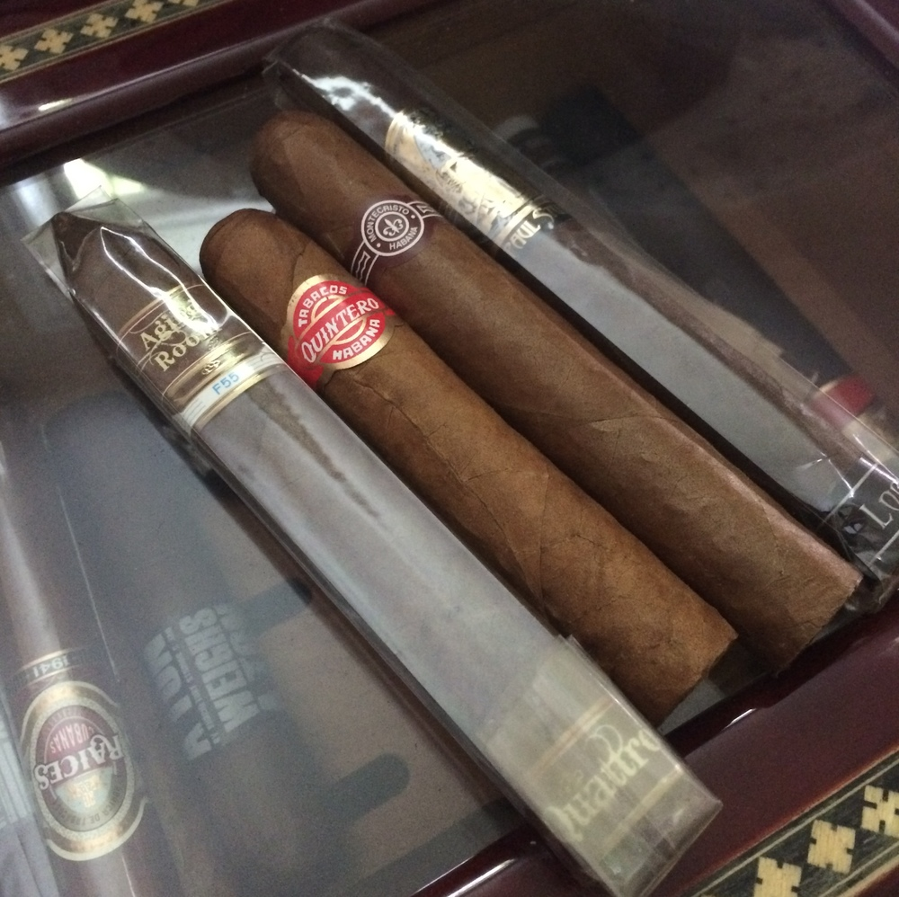 A few of my cigar selections.