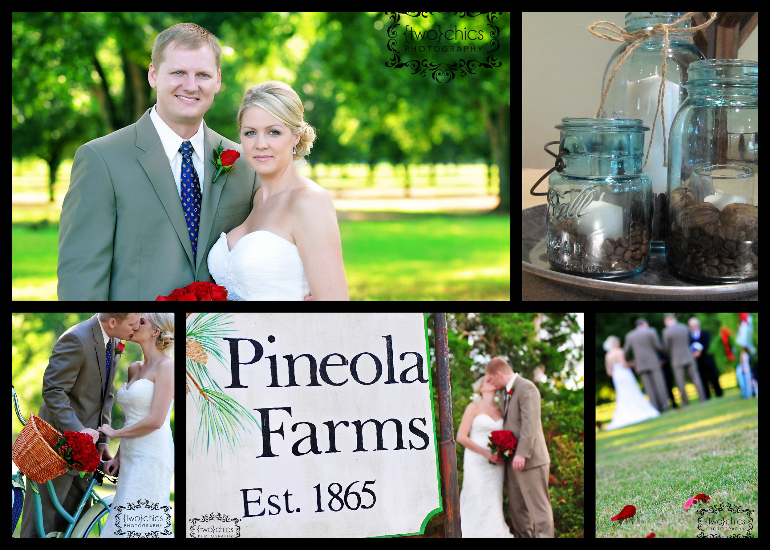 Pineola Farms Wedding September 4, 2010