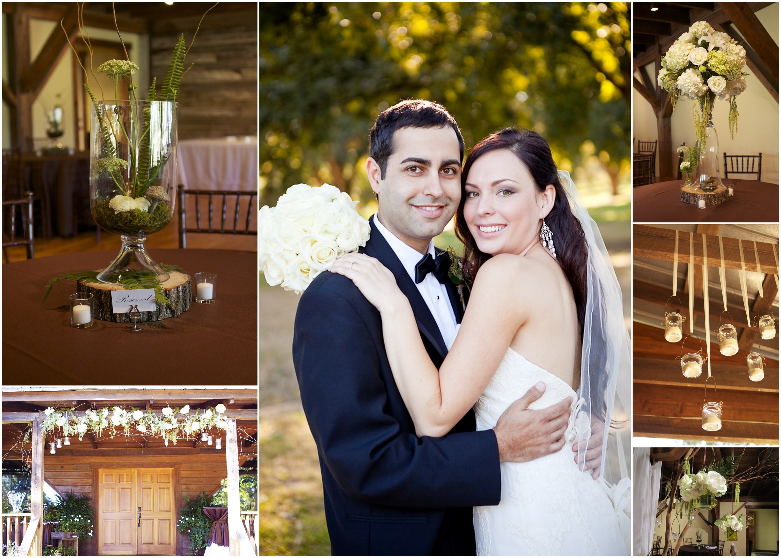 Pineola Fall Barn Wedding