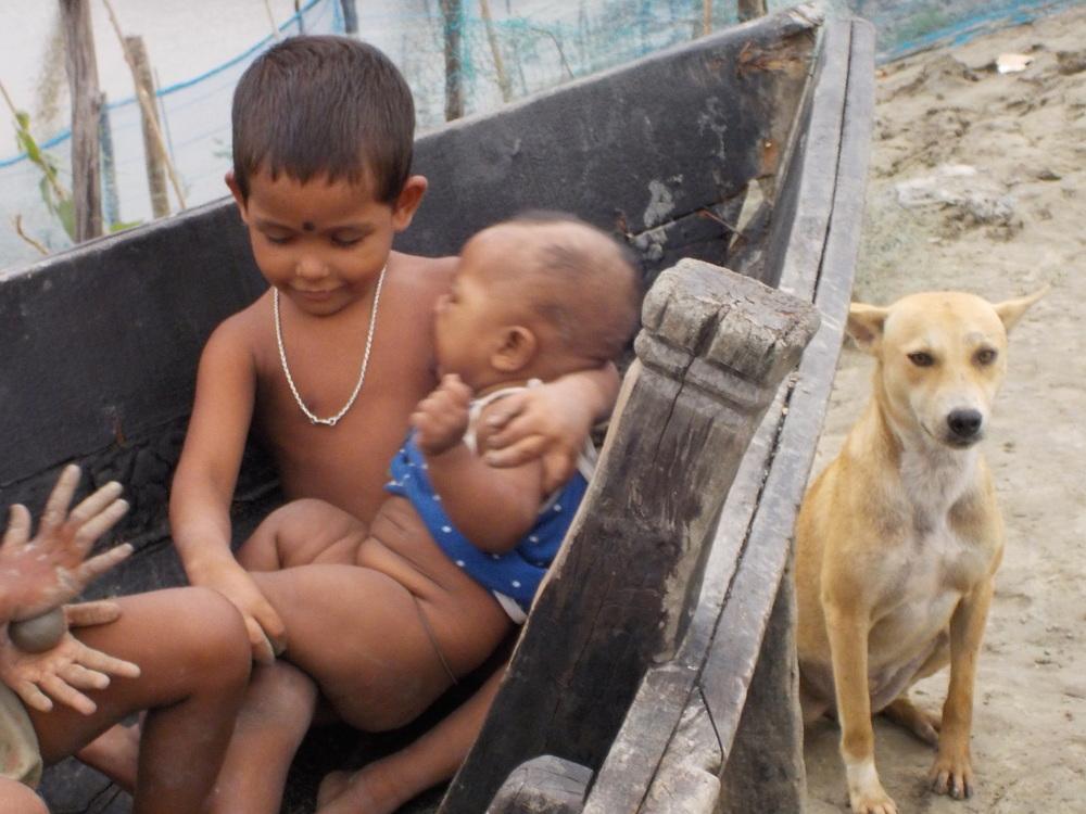 Older children as caretakers