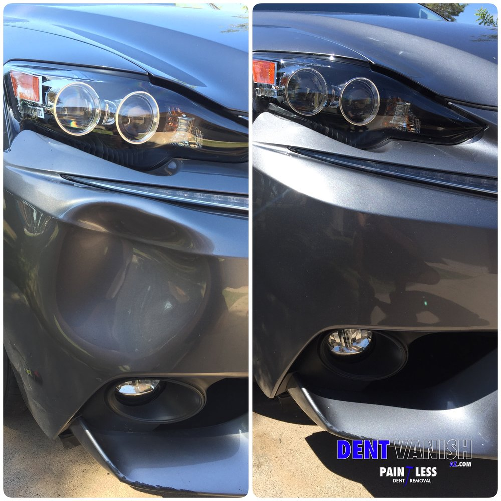 Bumper repair Lexus is350.JPG