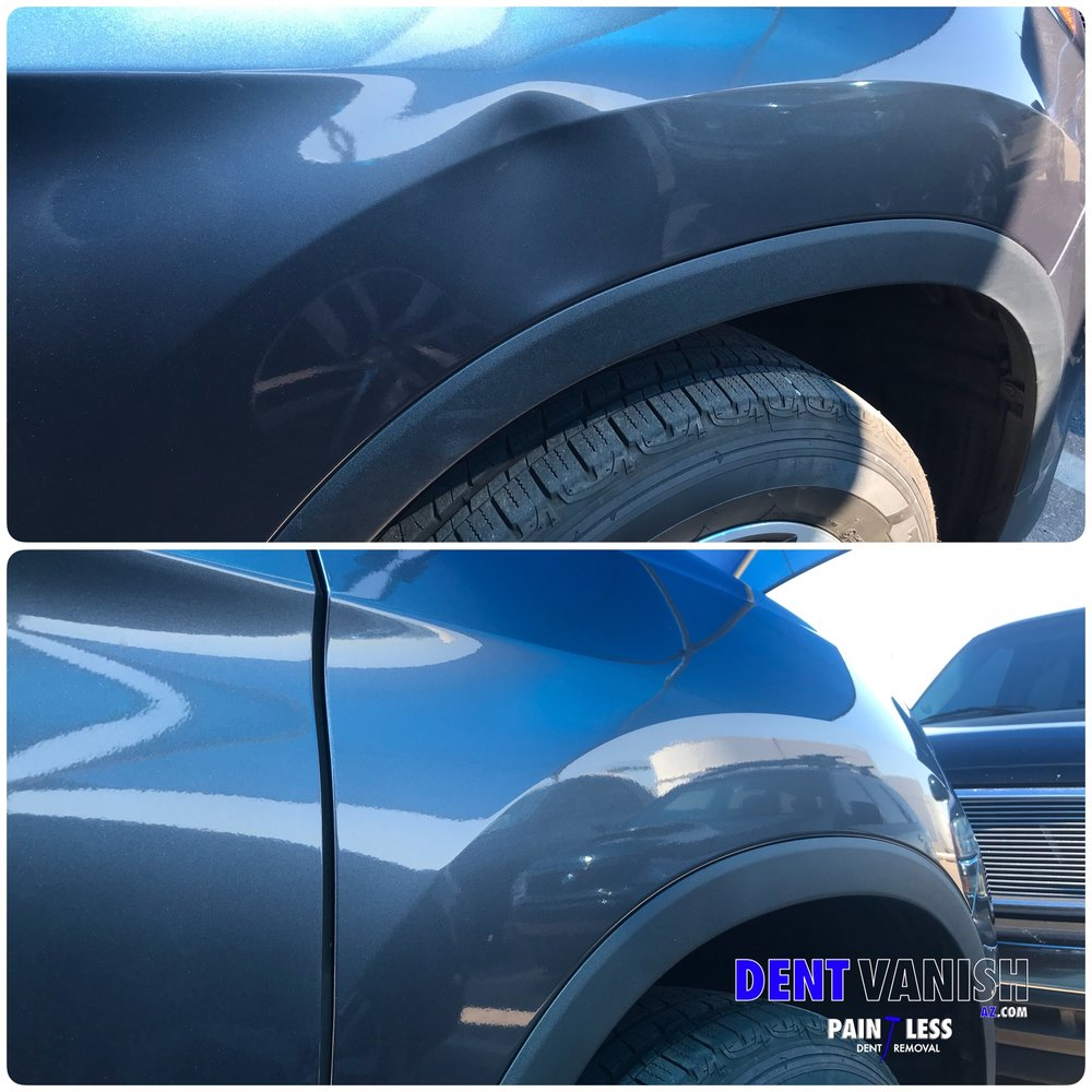 honda ridgeline bodyline dent damage repair.JPG