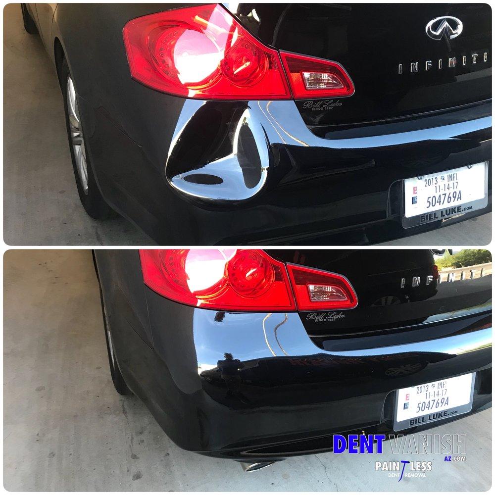 Infinity G35 pastic bumper repaired.JPG