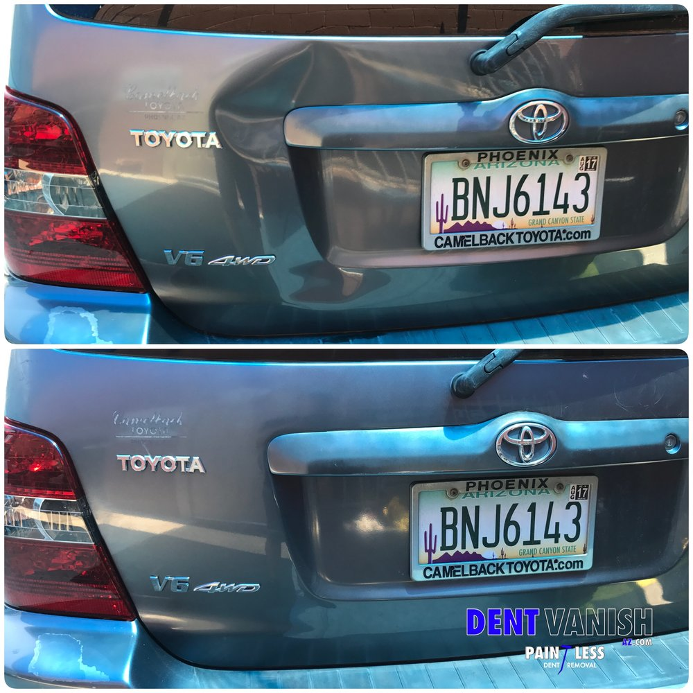 rear end damage repaired using pdr.JPG