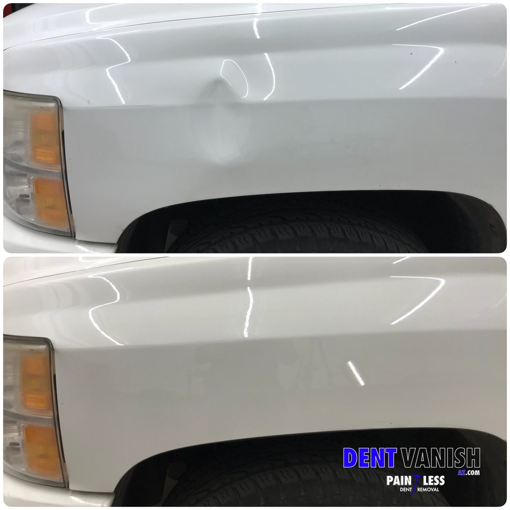 silverado fender paintess repair.JPG