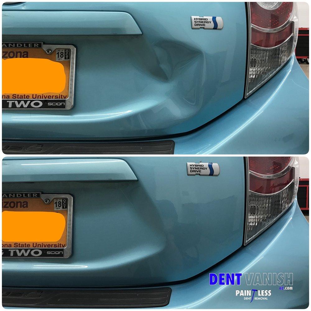 toyota prius collision damage