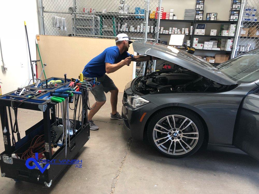 BMW dent repair