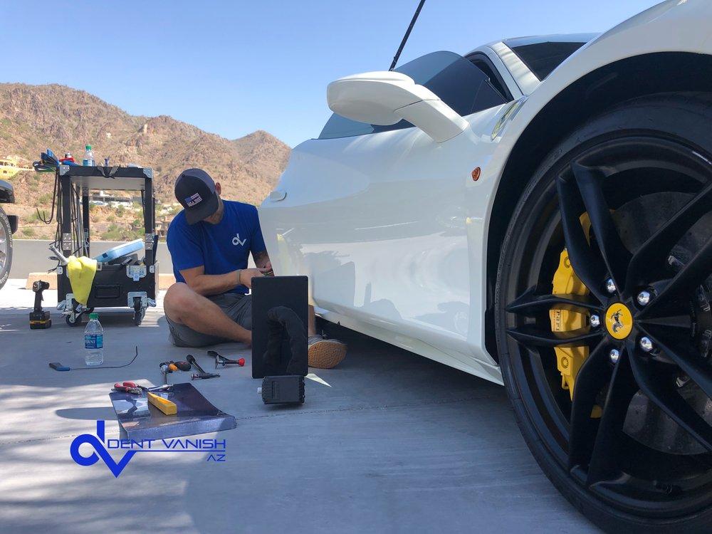 Ferrari Bodyline Damage